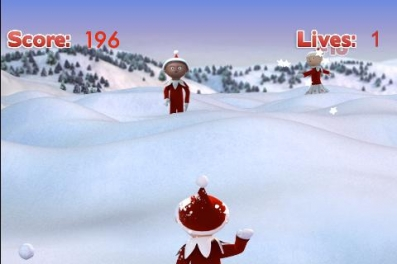 Snowball Fight - Christmas Game для андроид