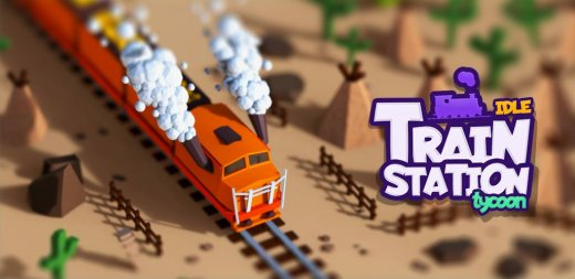 Idle Train Station Tycoon : Money Clicker Inc.